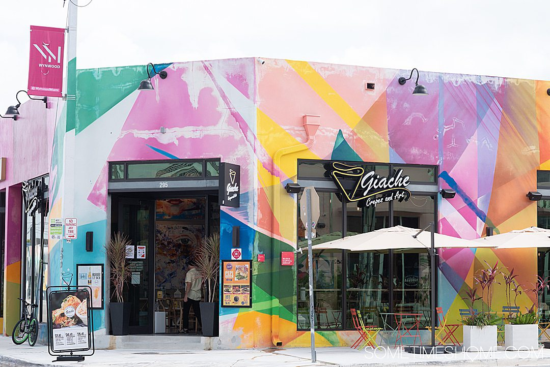 Fun things to do in Wynwood like where to eat, on Sometimes Home travel blog. Click through for all the information on this popular neighborhood in Miami, Florida.