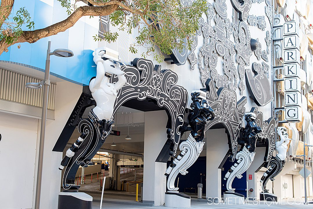 Miami Design District is near Wynwood Walls and is a great thing to do if you're nearby. We spill the details on Sometimes Home travel blog.