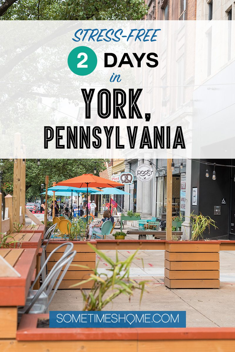 Pinterest graphic for a York, PA post