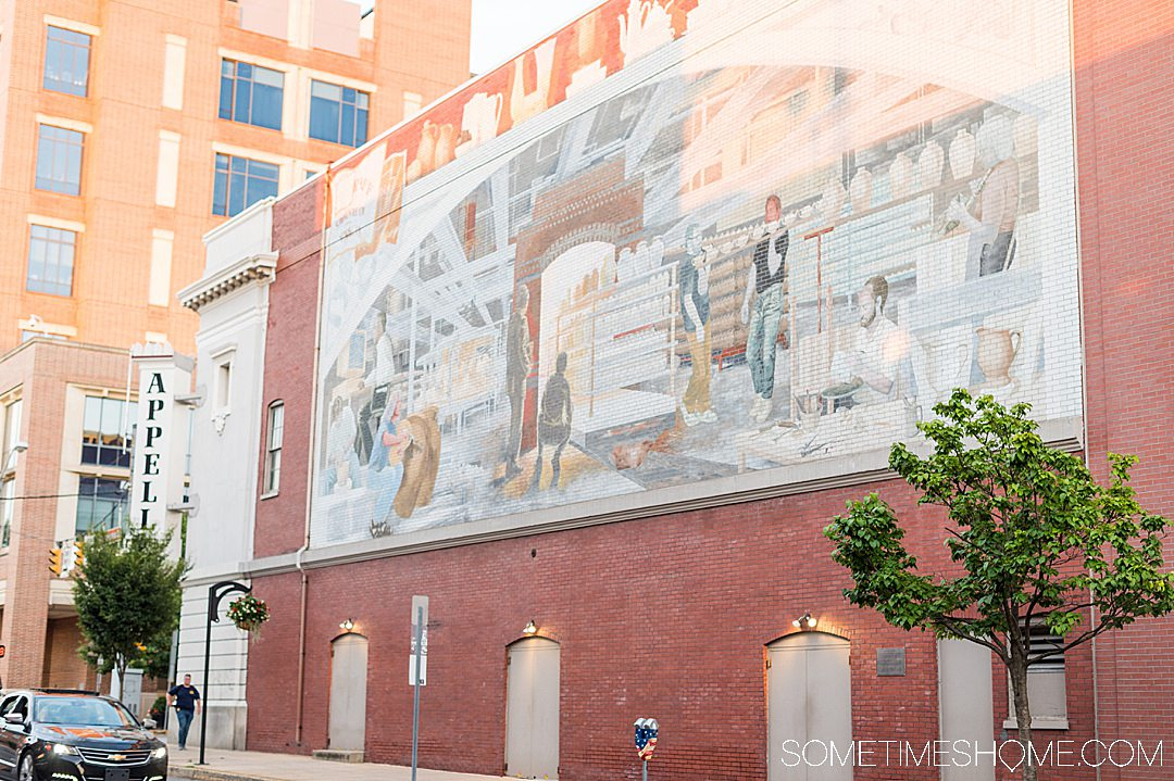 Mural in downtown York, PA
