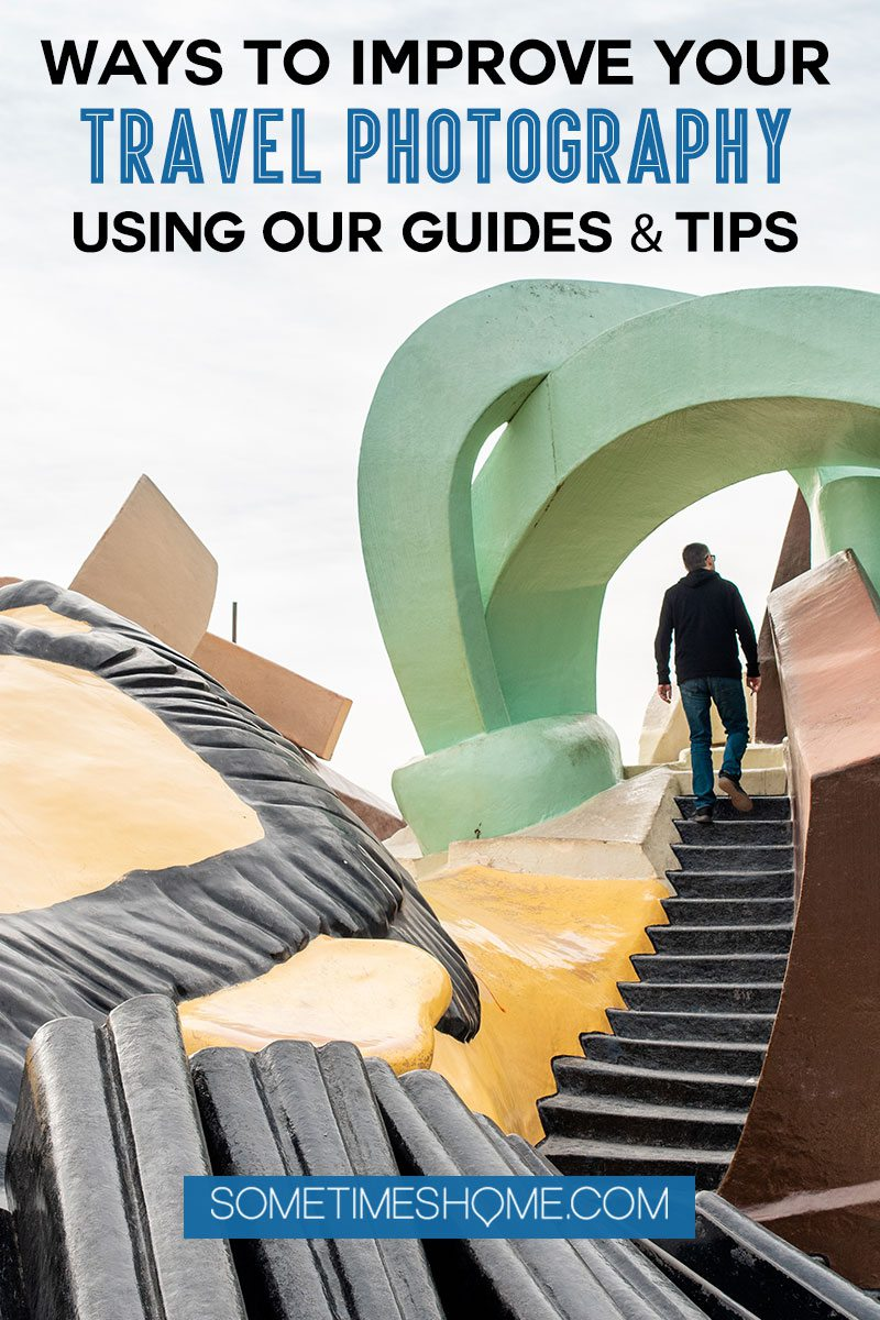 Ways to Improve travel photography Pinterest Graphic