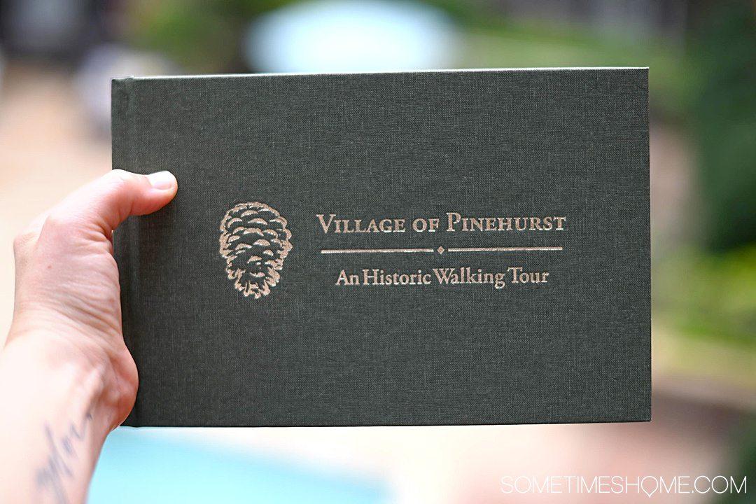 "The book ""Village of Pinehurst, An Historic Walking Tour"""