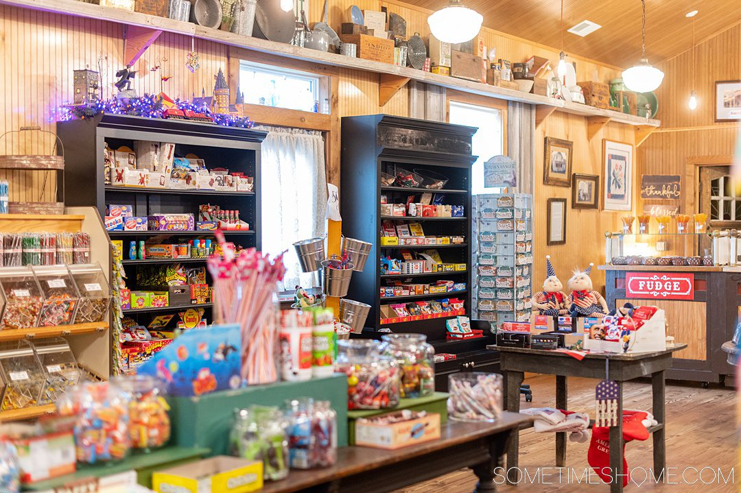 Outer Banks indoor activities including The Christmas Market shop.