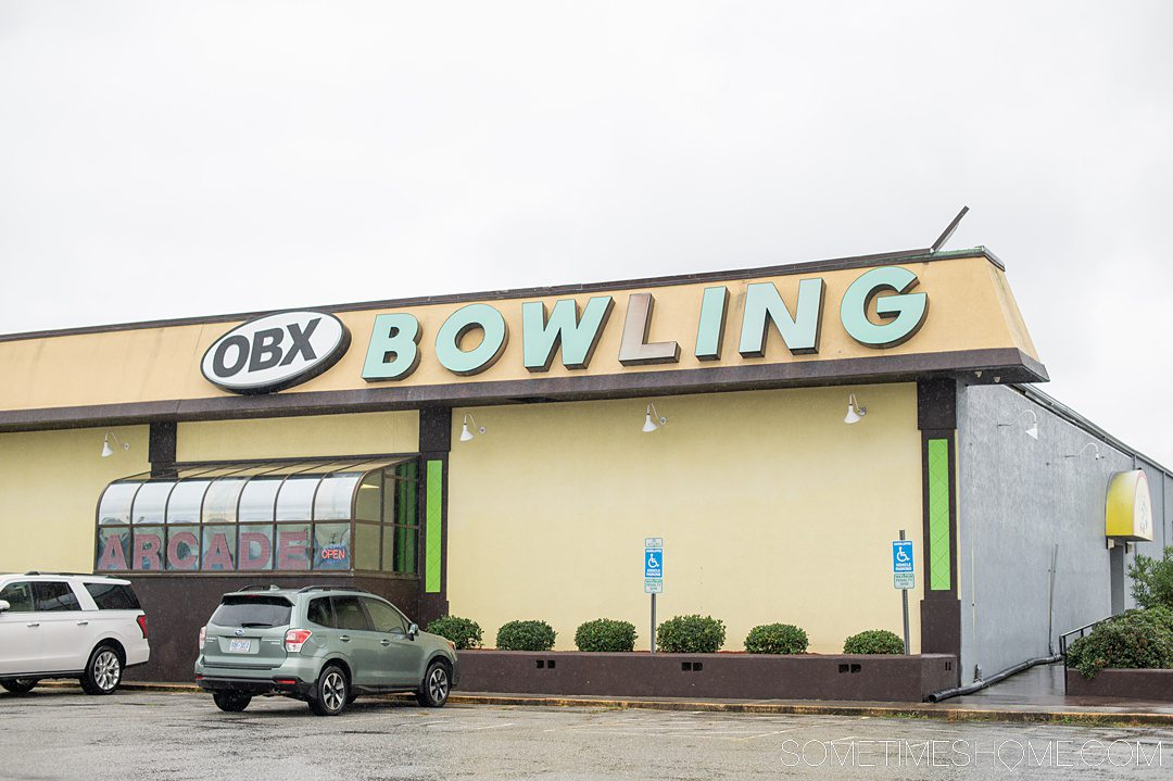 OBX Bowling in the Outer Banks of North Carolina.