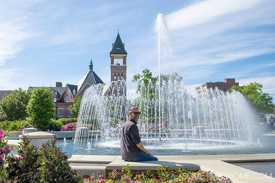 One of the best things to do in Rock Hill, SC is visit Fountain Park, downtown.