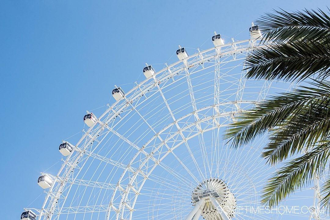 Orlando's Ferris Wheel, the ICON Wheel off I-Drive.